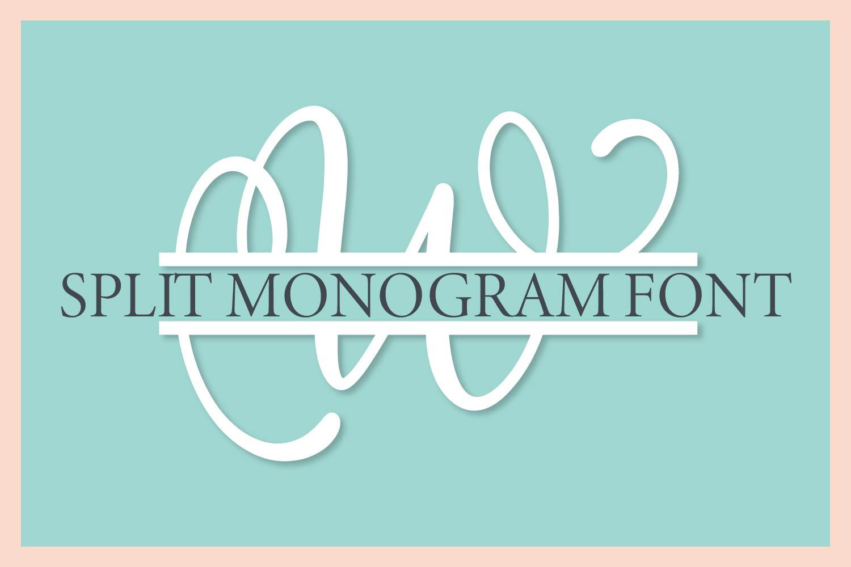 Big Monogram Bundle - 10 of my Best Selling Monogram Packs! example image 8