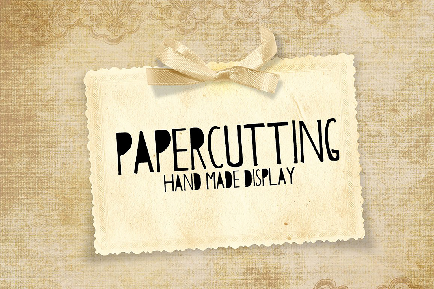 Papercutting Fonts example image 1