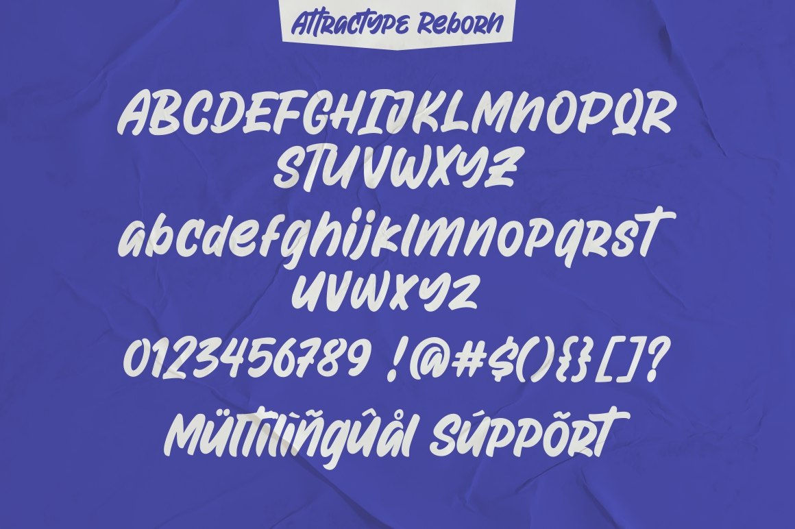 Attractype Reborn - Stylish Display Font example image 9