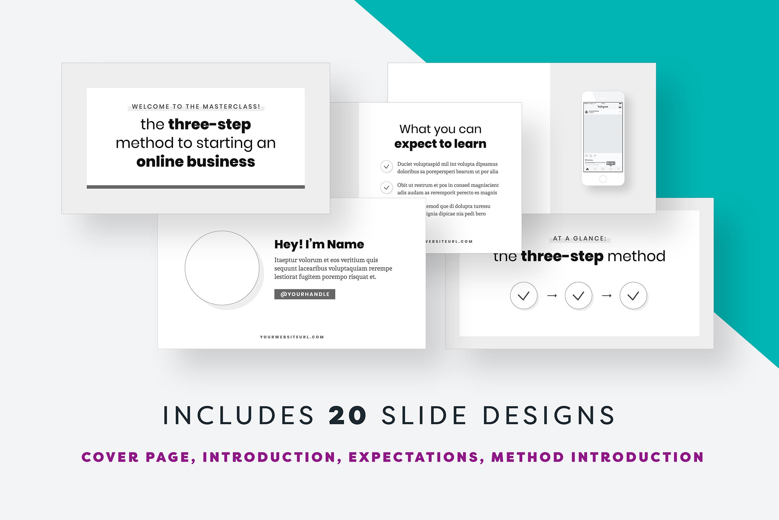 Webinar Slide Deck example image 3