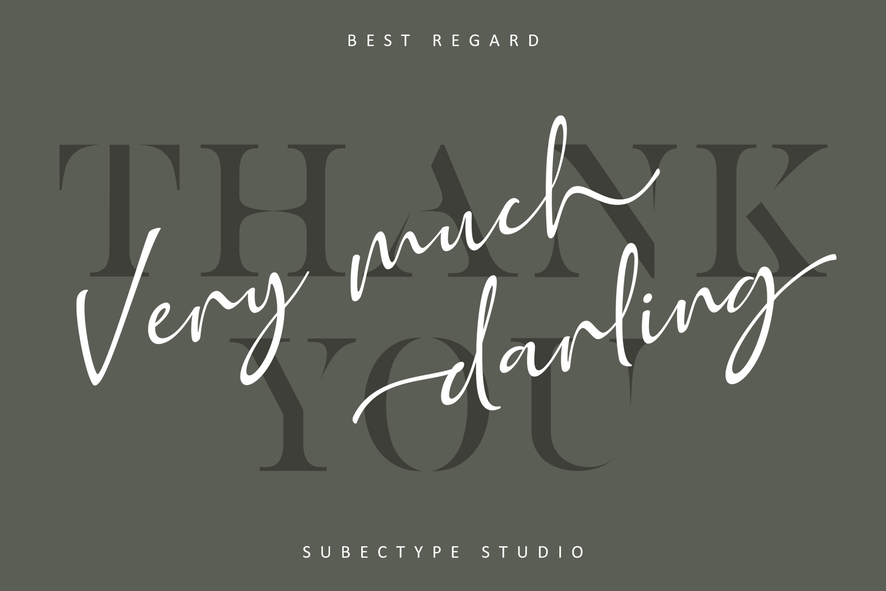 Golden Class Font Duo example image 17