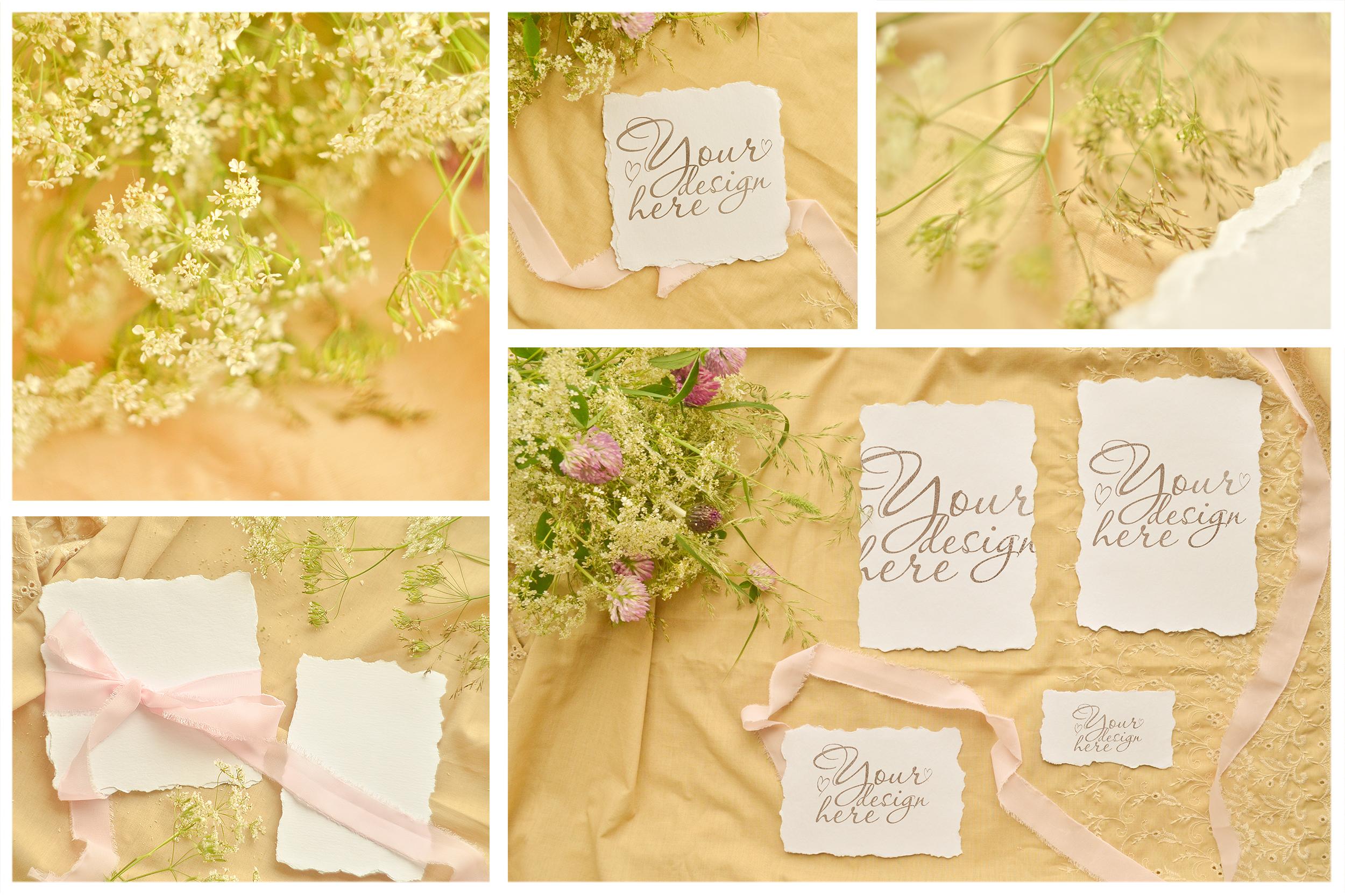 Honey Meadow. Wedding mockups & stock photo bundle example image 9