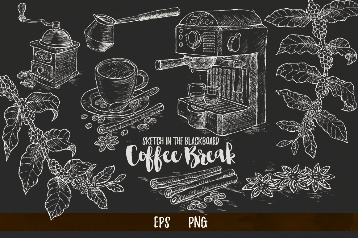 Watercolor Coffee Break example image 4