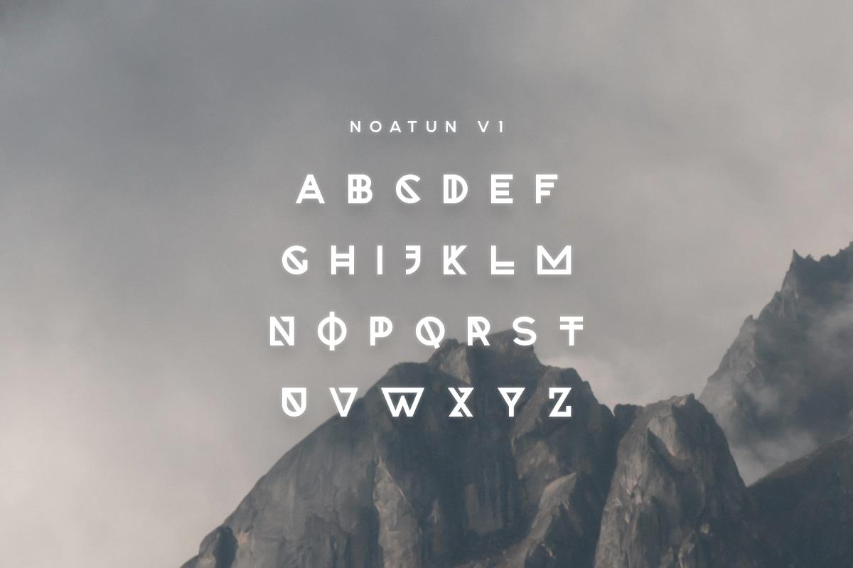 Noatun Typeface example image 2