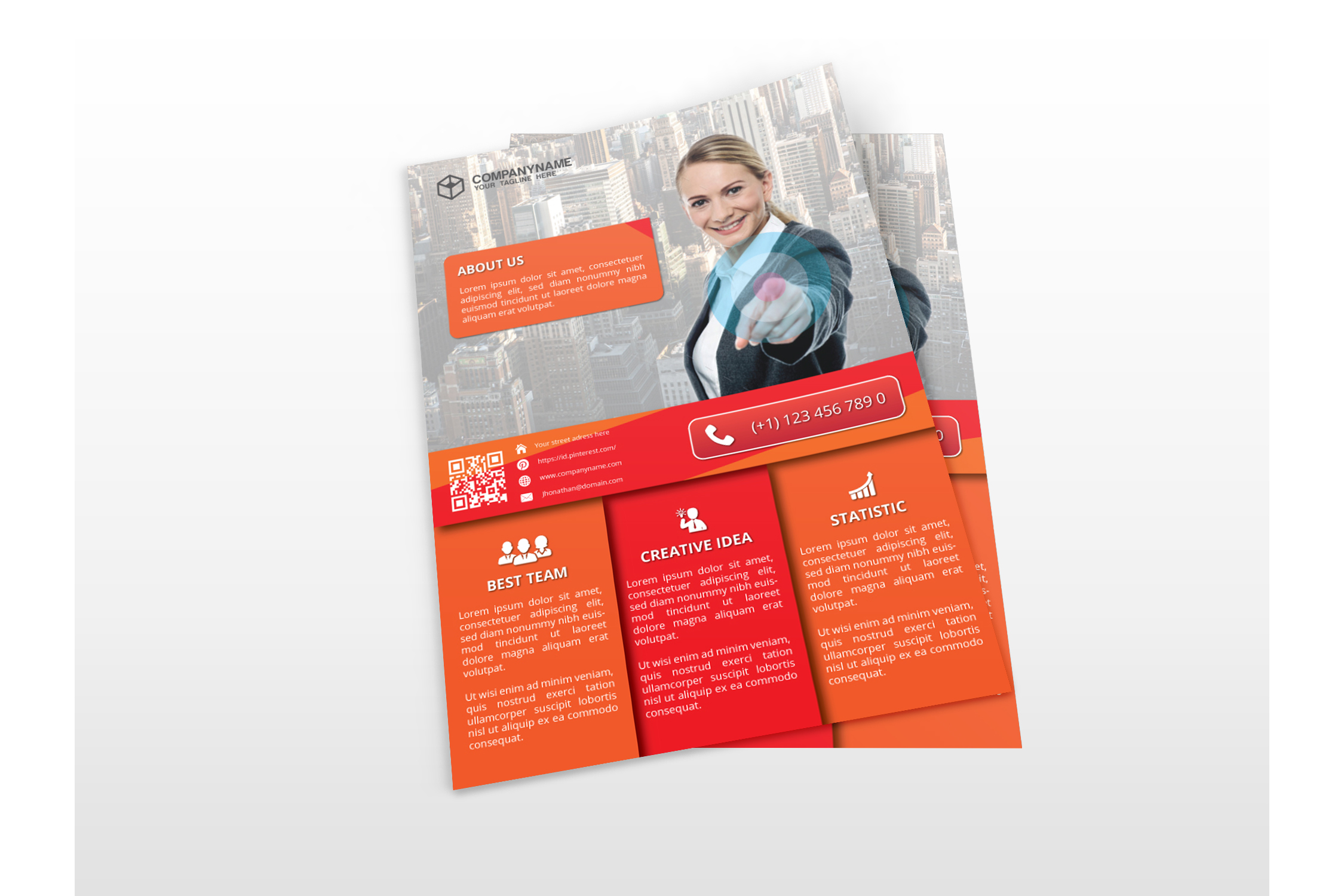 Modern Business Flyers example image 3