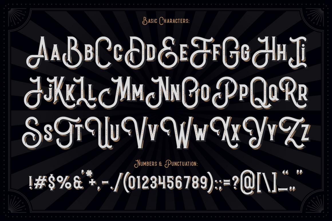 Black Queen font & bonus graphics example image 6