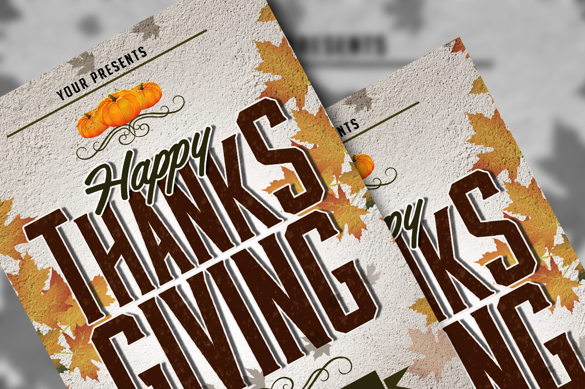 Thanksgiving Flyer example image 5