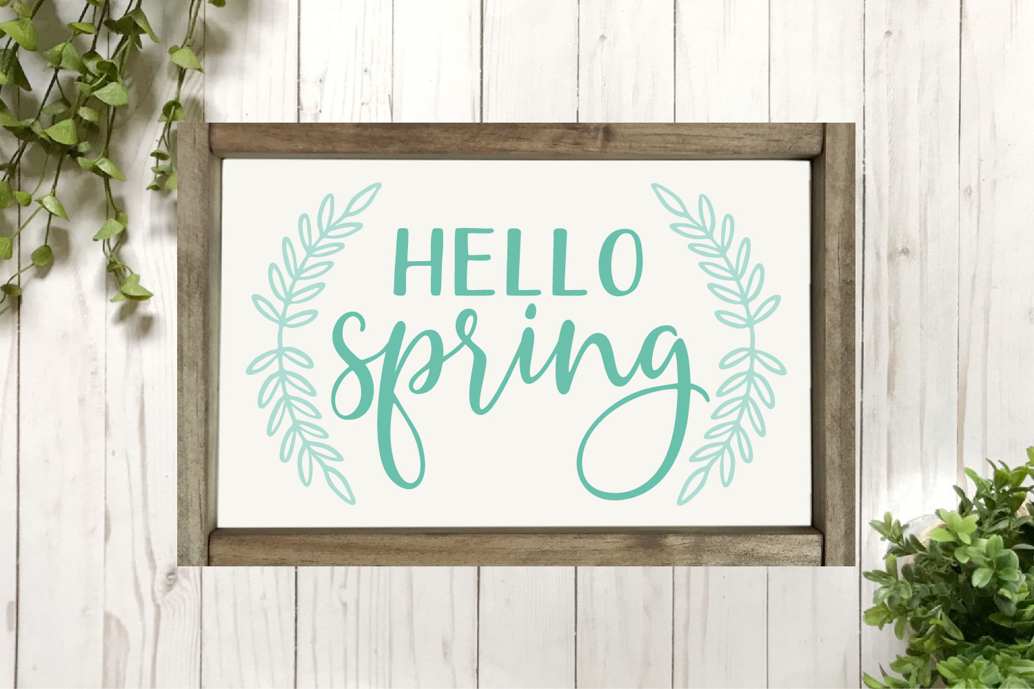 Spring SVG Bundle - Cut Files for Signs example image 6