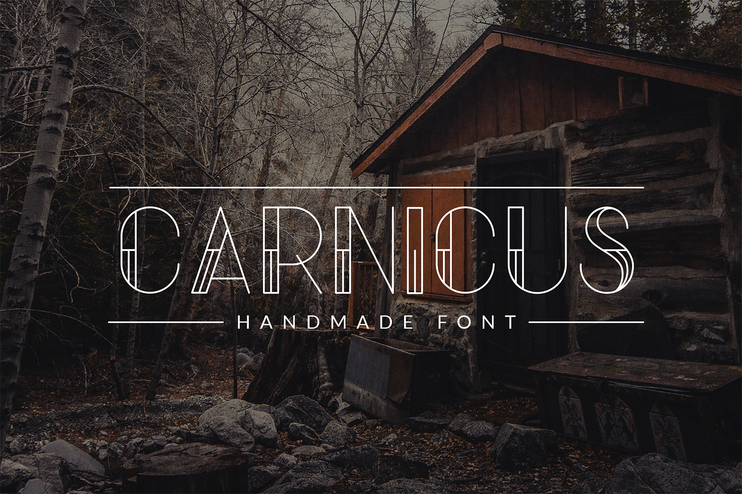 Carnicus - Font Type example image 1