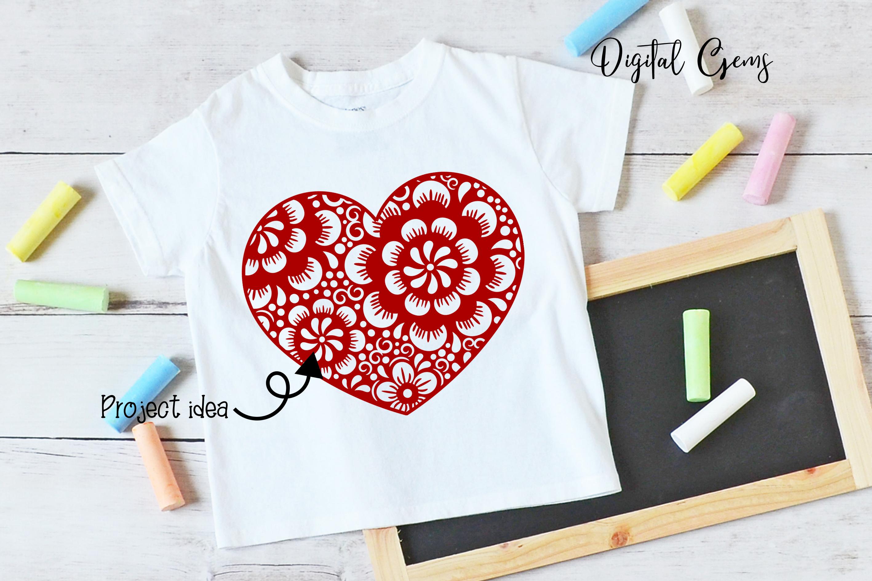 Heart, Valentines / love design example image 6