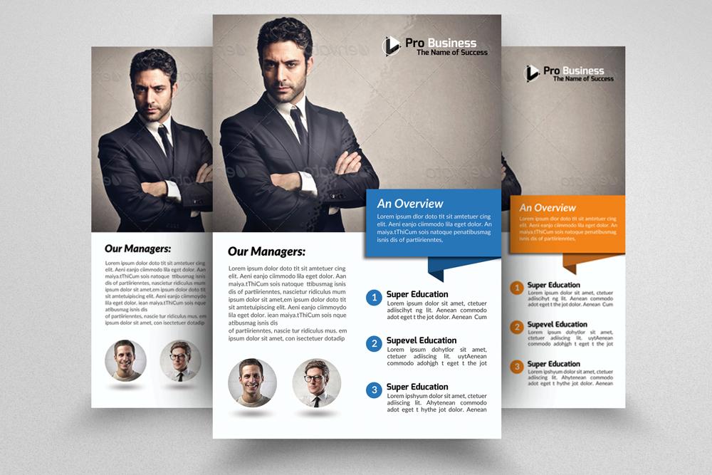 6 Multi Use Business Flyers Bundles example image 2