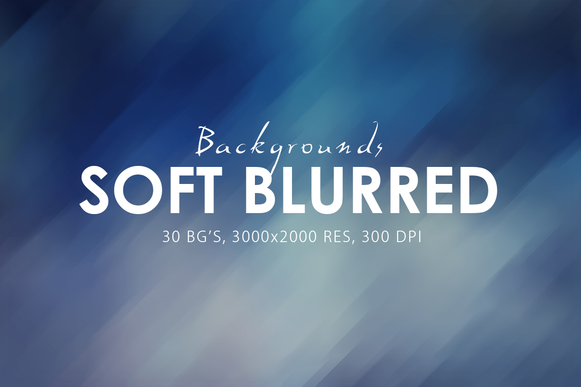 30 Soft Blurred Backgrounds example image 1