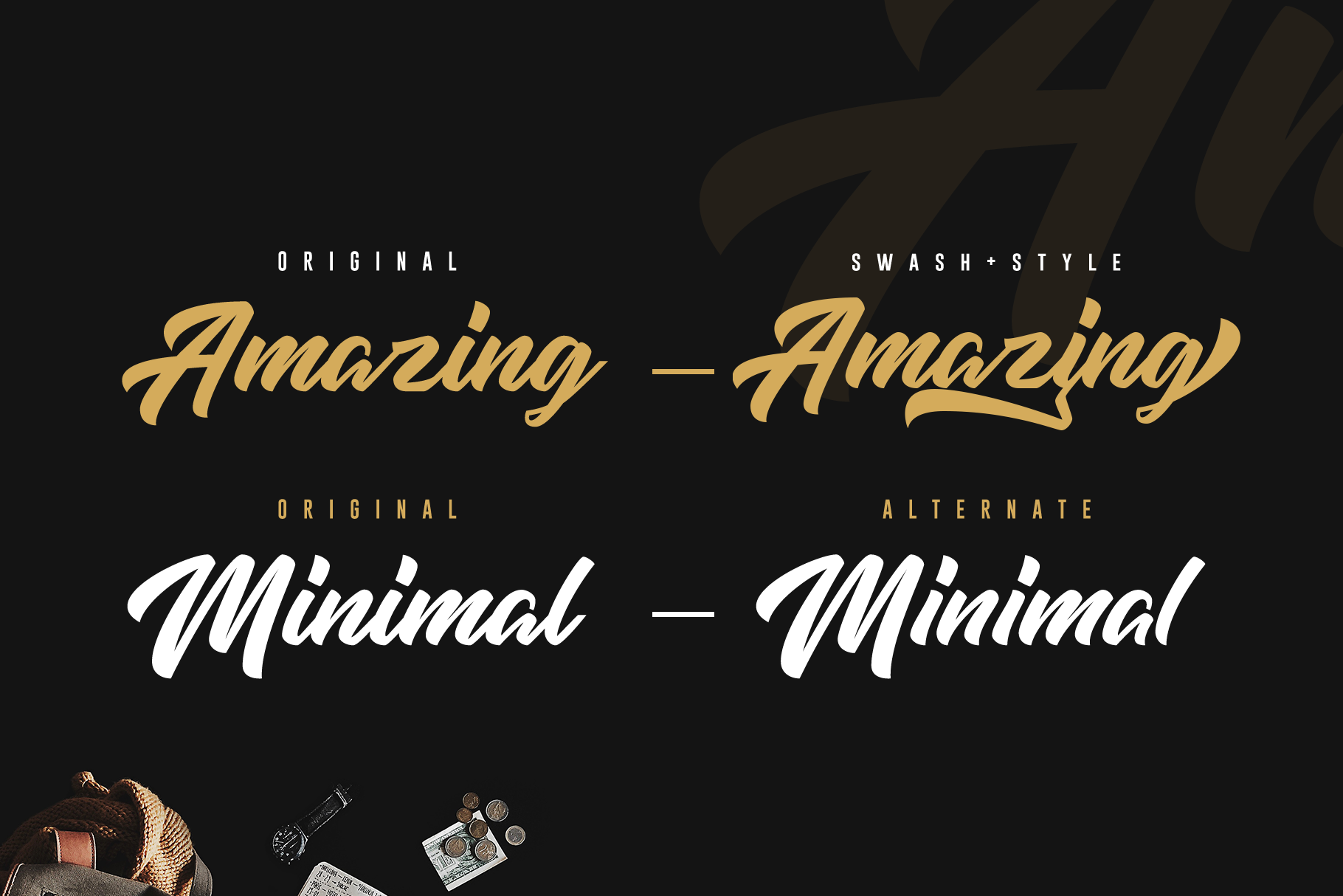 High Amelliya Typeface example image 7