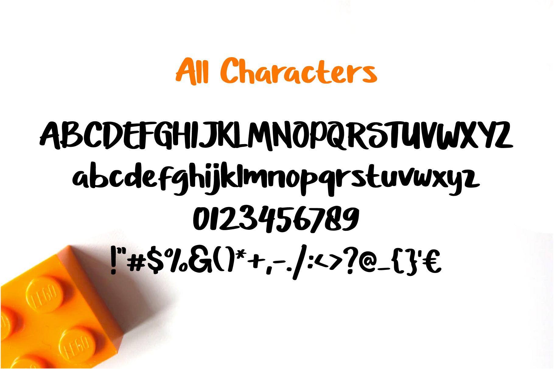 Just Marsha - Fresh Tasty Font example image 5
