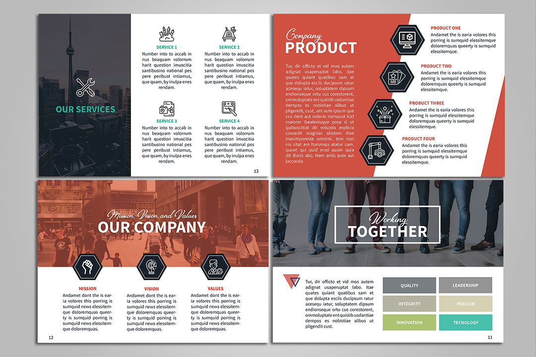 A5 Creative Brochure example image 5