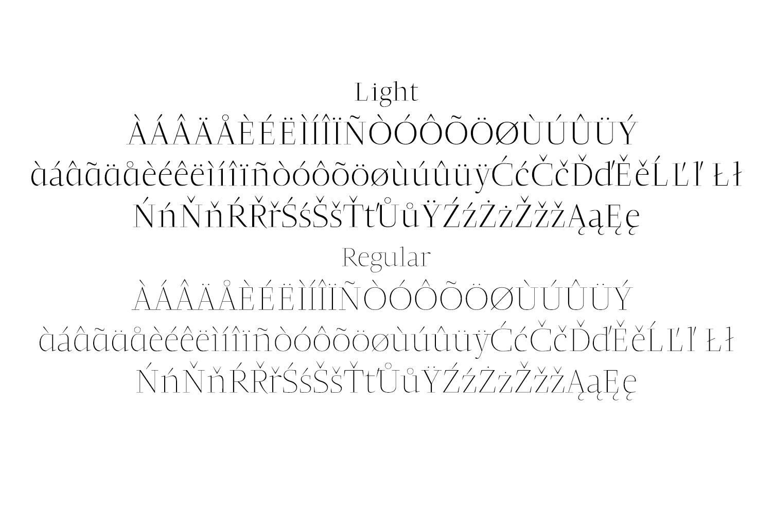 Jesusa Serif Typeface example image 4