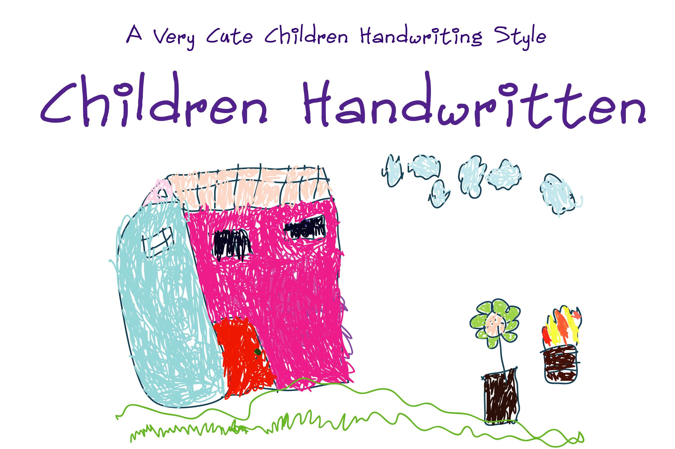 Children Handwritten example image 1