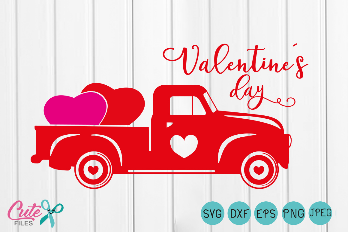 Valentine S Day Boys Valentine Svg Truck Svg