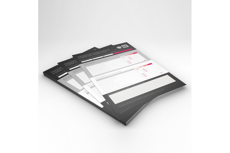 Training Evaluation Form A4 Template example image 2