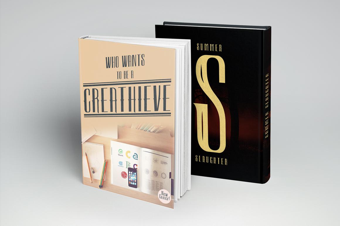 Sambeltigo Typeface example image 5