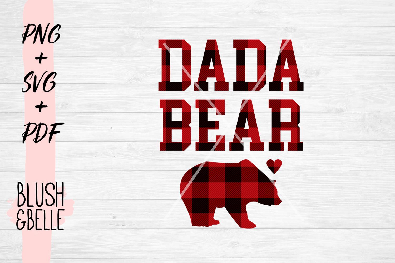 Dada Bear PNG, SVG, PDF example image 2