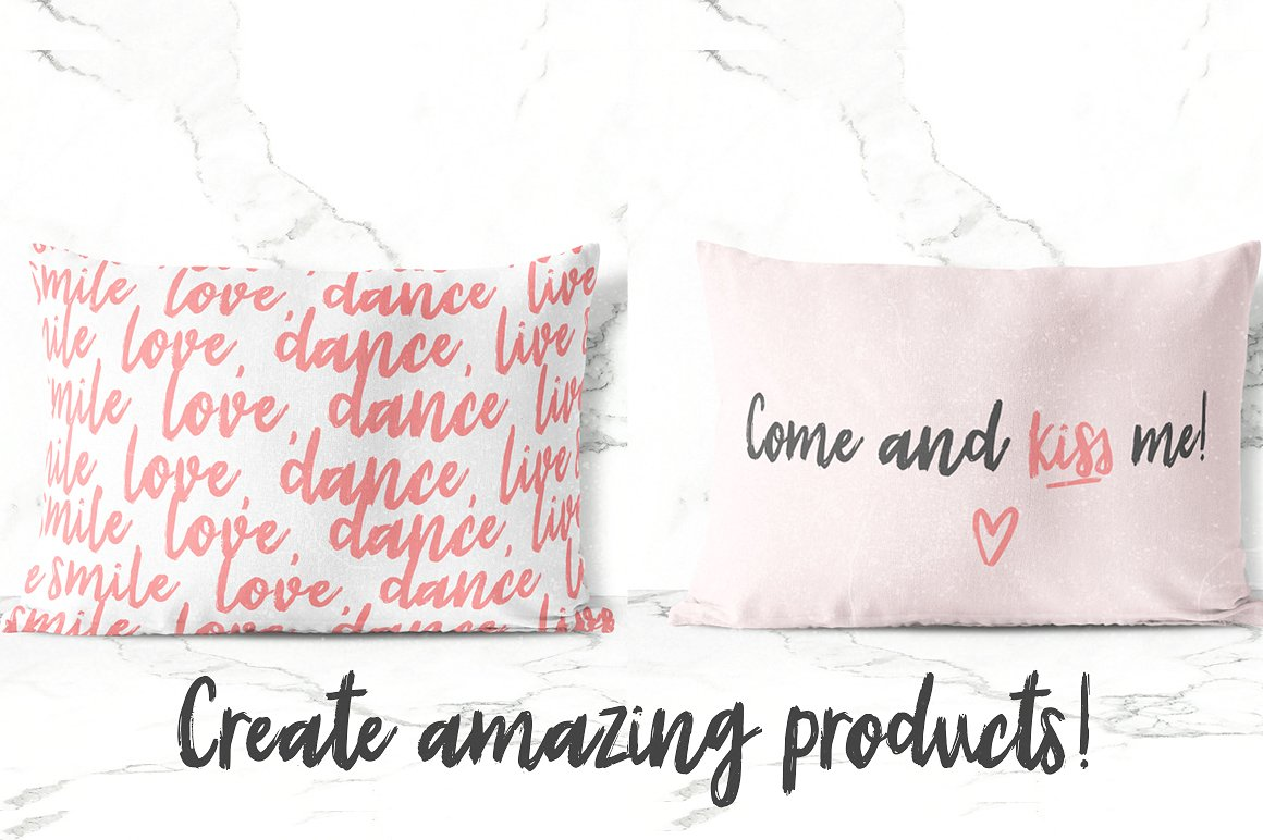 Sunrise | Handmade font and extras! example image 7