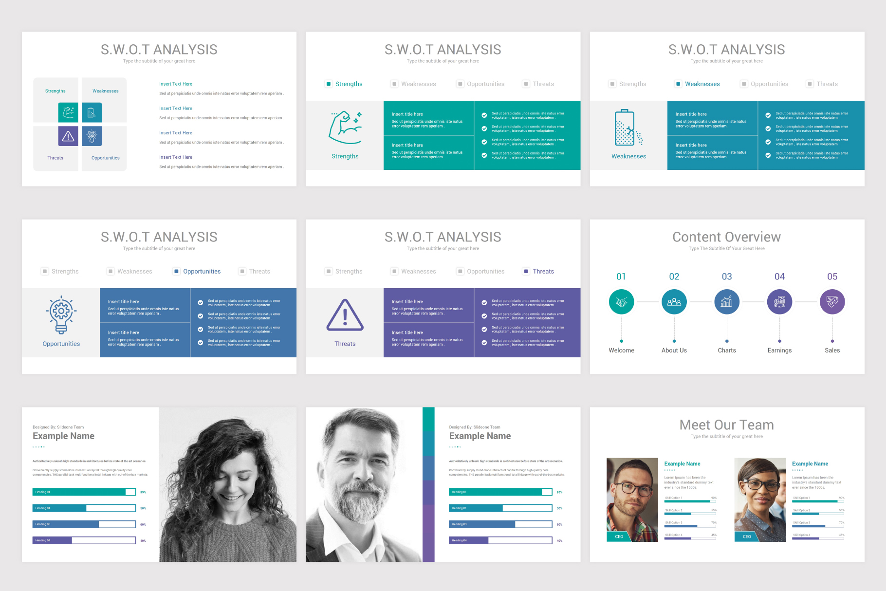 Annual Report Keynote Template example image 8
