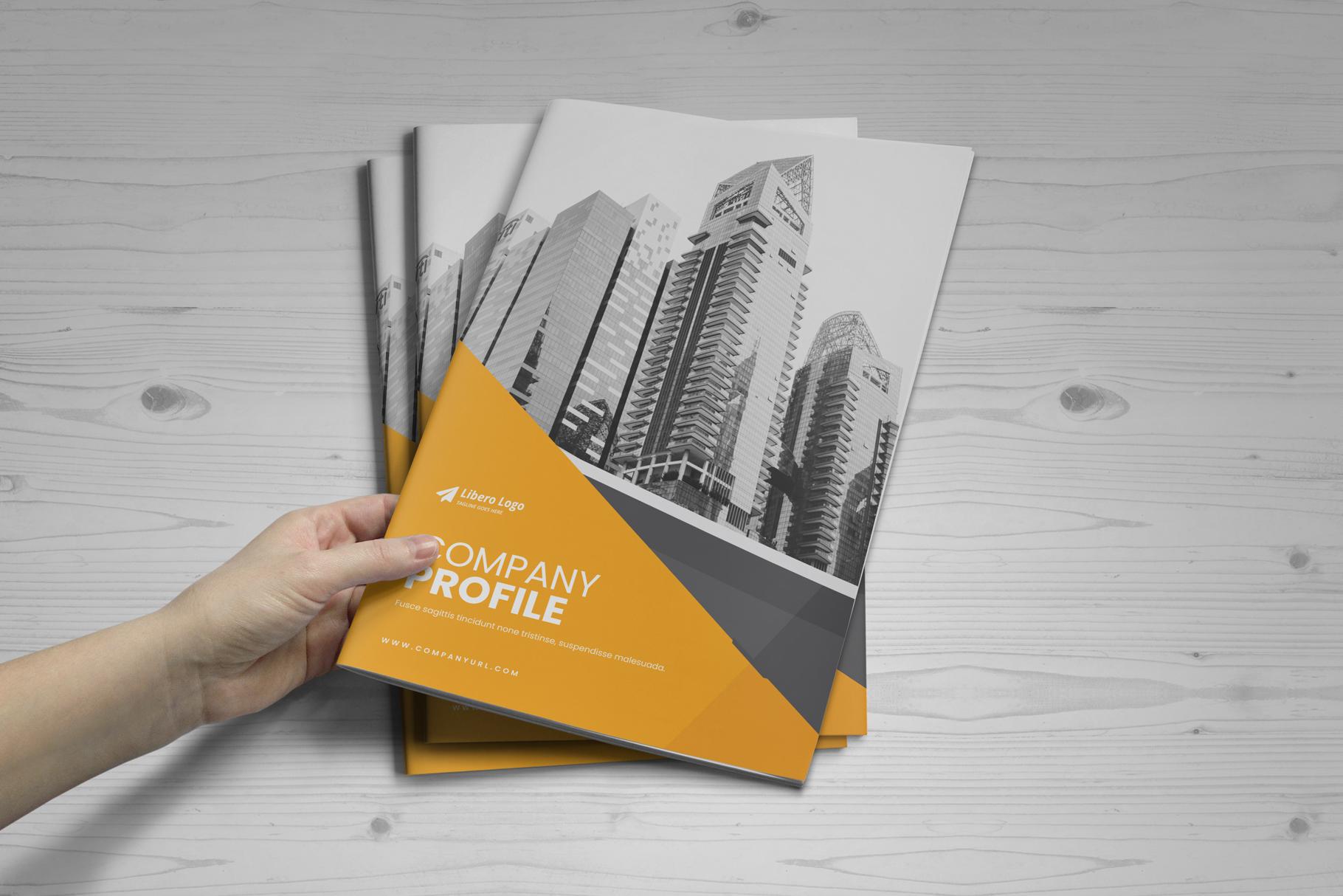 Company Profile Brochure v10 example image 18