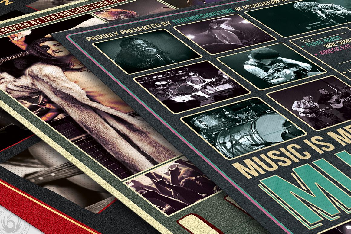 Concert Live Flyer Bundle V6 example image 6
