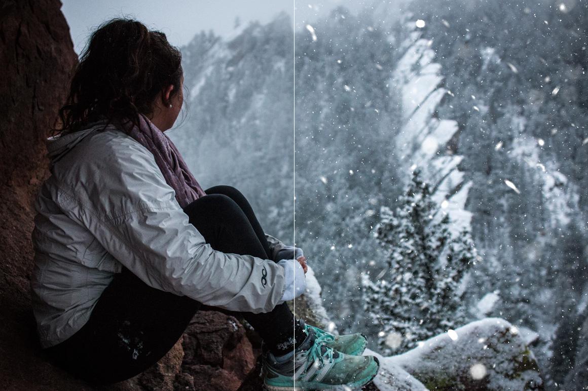 100 Snow Overlays example image 11