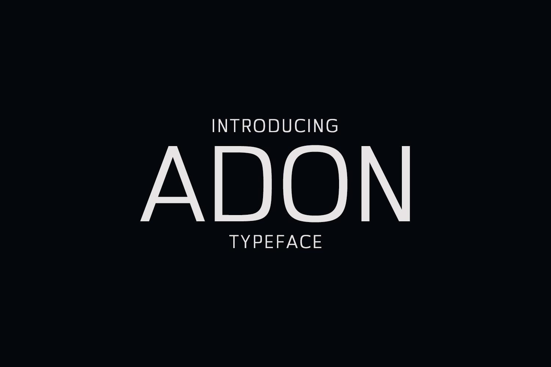 Adon Sans Serif Typeface example image 1