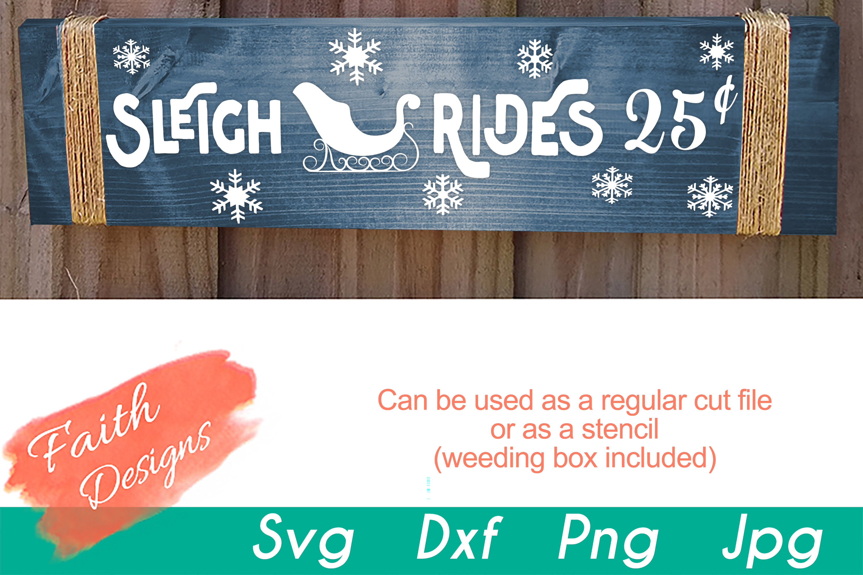 Christmas Porch Sign Bundle example image 14