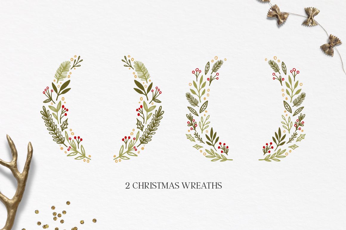 Merry Christmas set example image 3