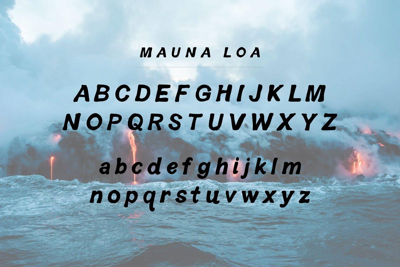 Mauna Loa | Vintage Hawaiian Font example image 2