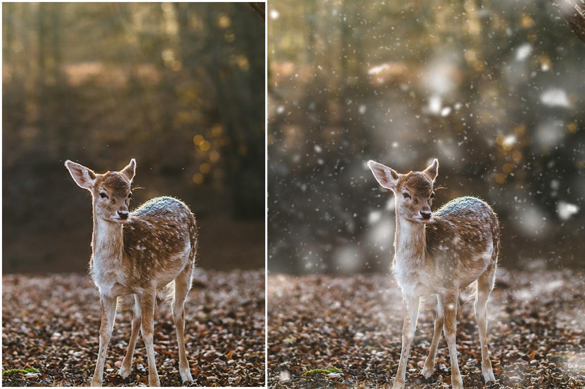 Snow Photoshop Action example image 6