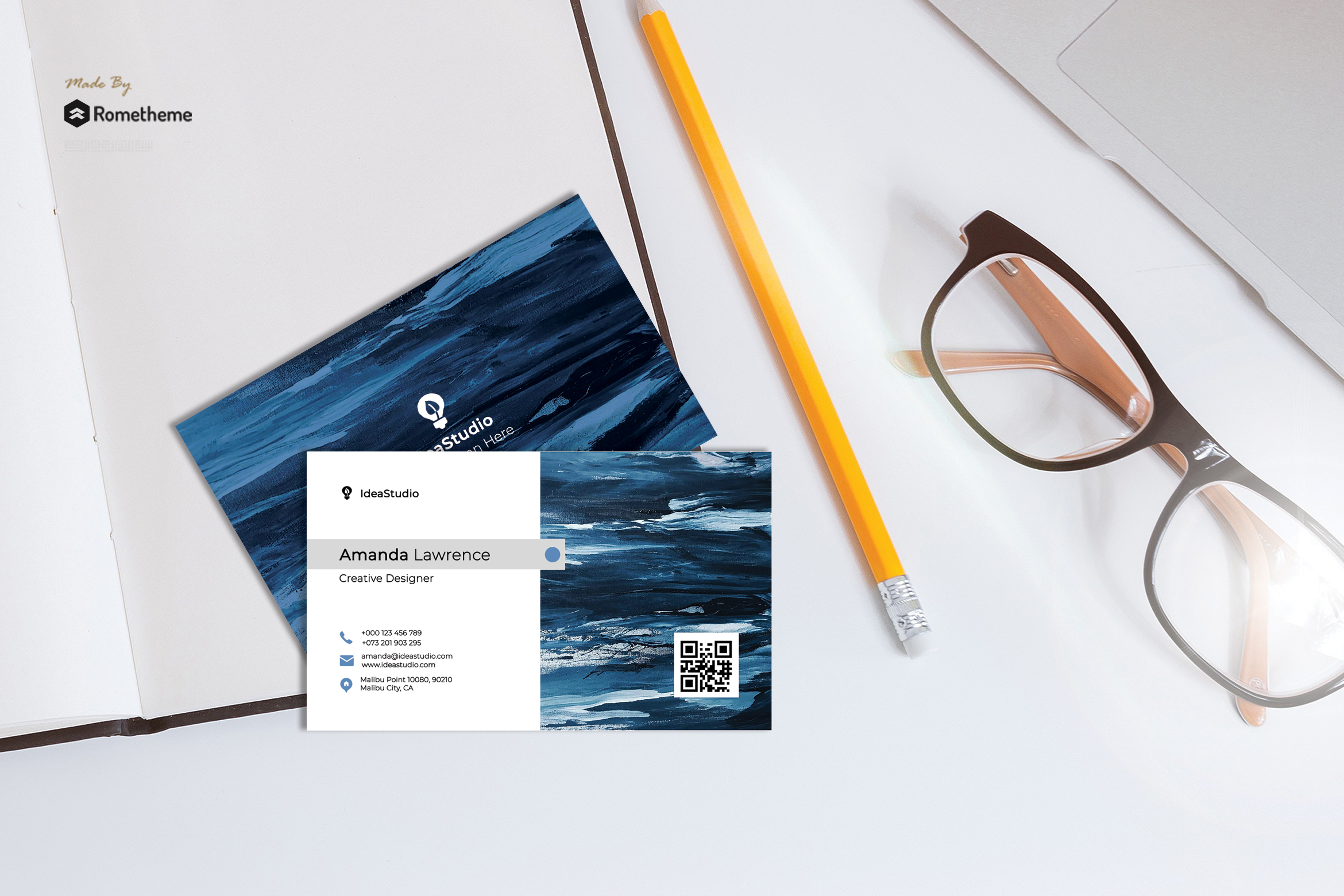 Business Card vol. 11 example image 1