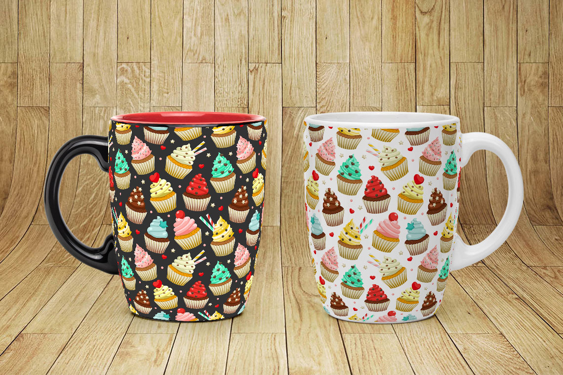 Cupcakes set & patterns example image 7