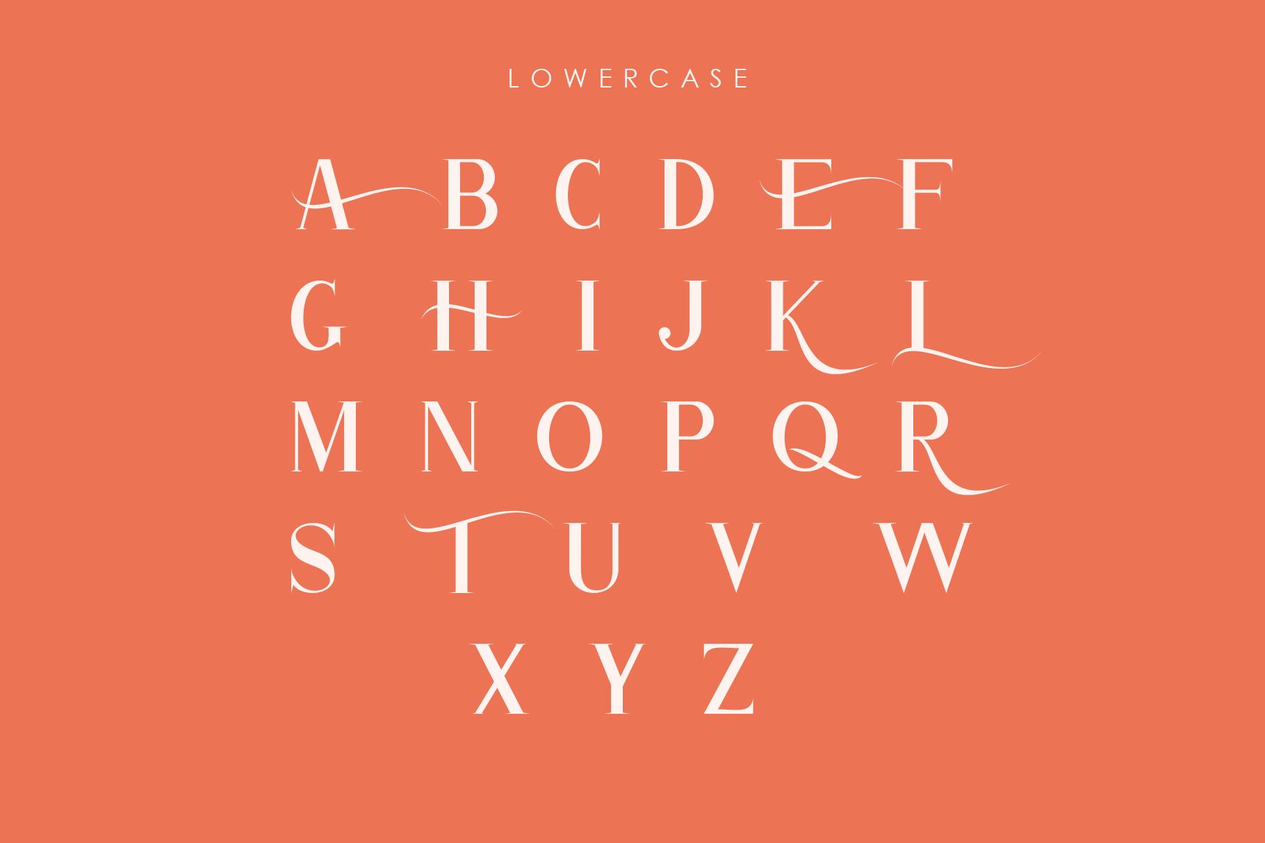 Atlane Casual Serif Font example image 7