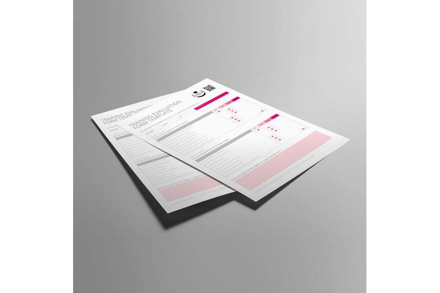Training Evaluation Form Template US Letter example image 5
