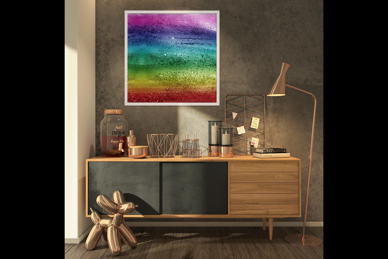 30 Rainbow Shimmering Fairy Unicorn Glitter Digital Papers example image 7