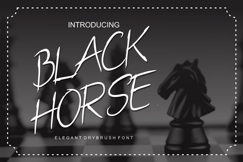 Black Horse example image 1