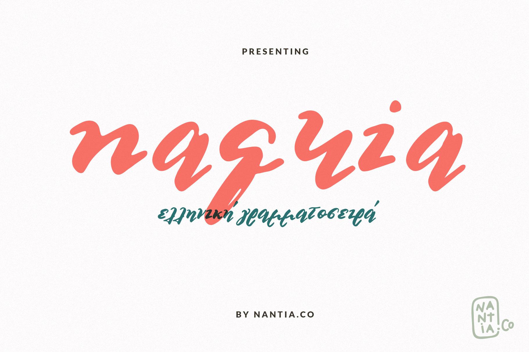 Multilingual Brush Font- Naquia Font example image 15