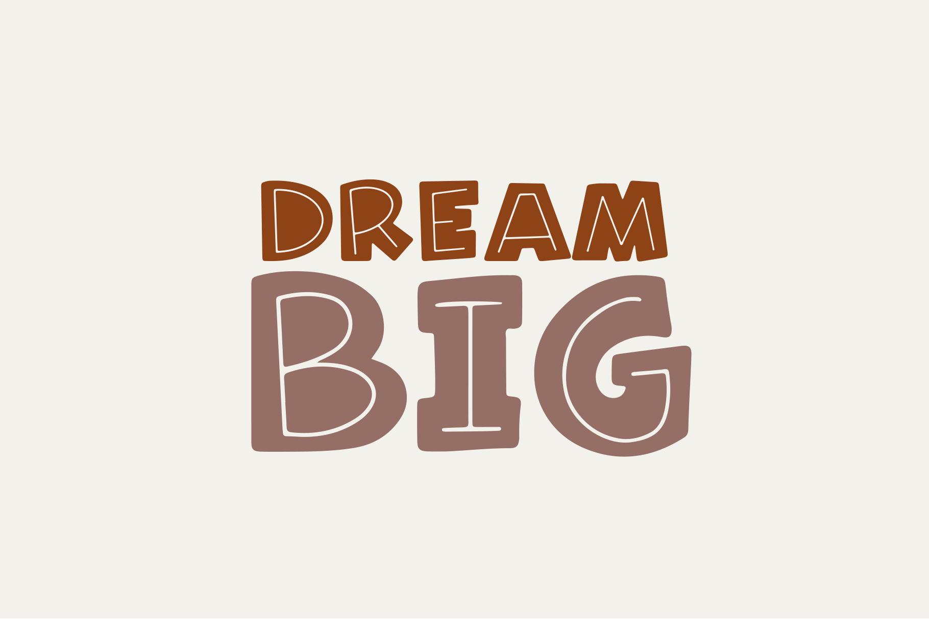 Hazelnut - A Fun Handwritten Font example image 2