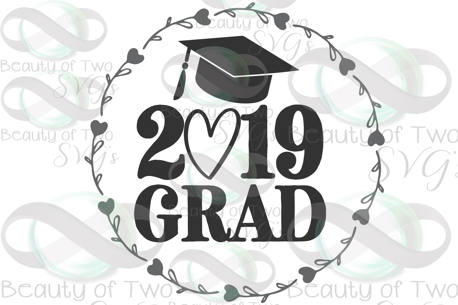 2019 Grad svg and png, 2019 Graduate svg, Graduate 2019 svg example image 3