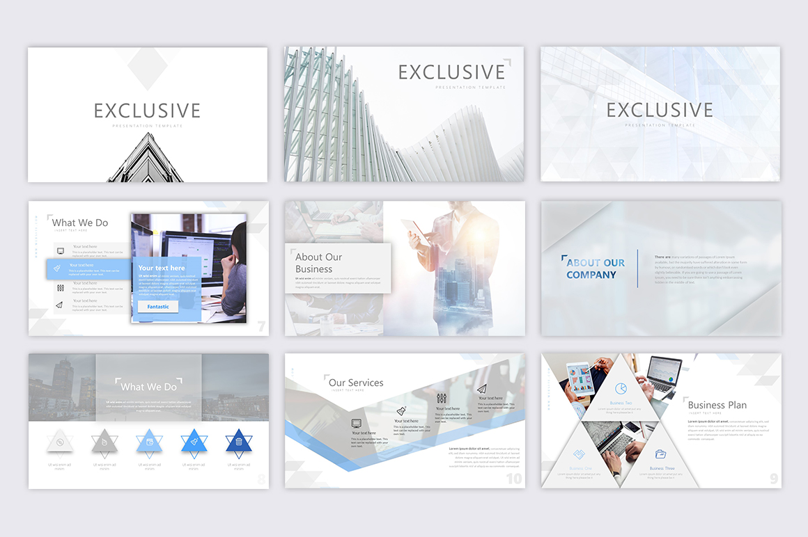 Exclusive Powerpoint Template example image 3