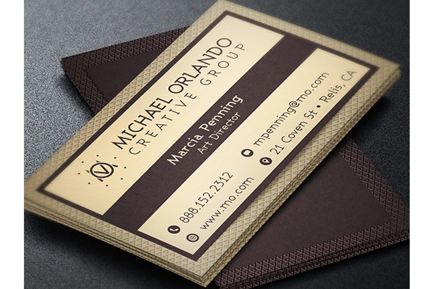 Creative Group Business Card Template example image 2