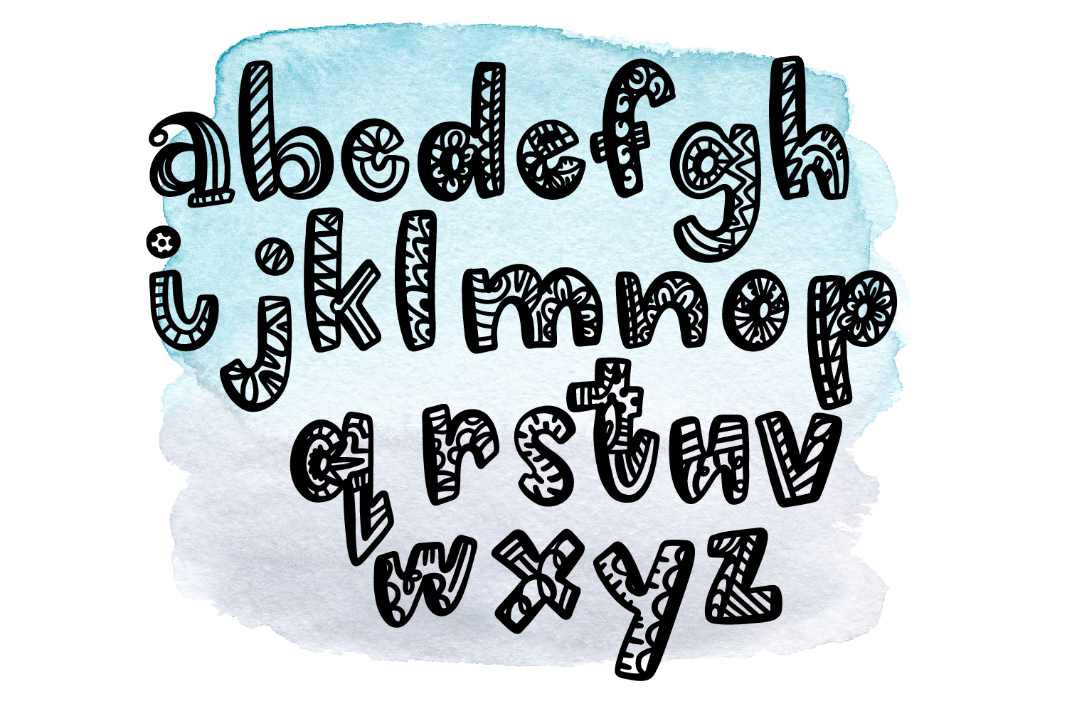George Lincoln- A Silly Doodle Font example image 4
