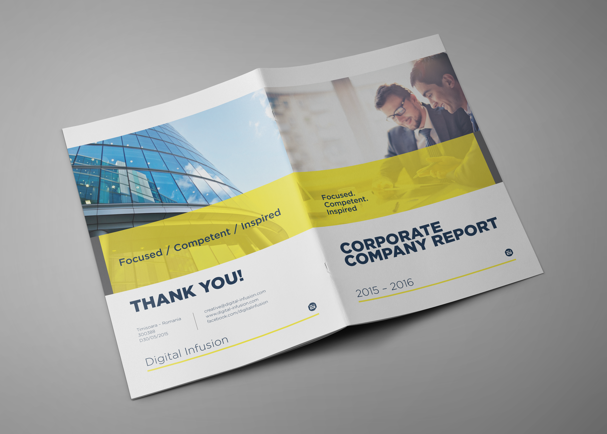 Corporate Company Profile example image 1