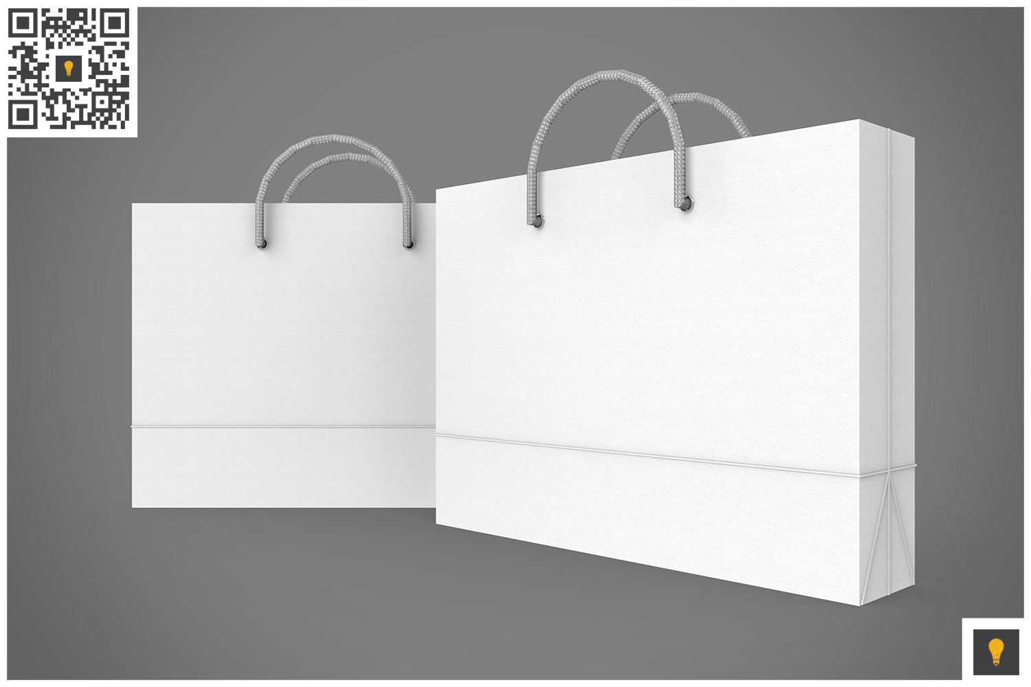 Shopping Bag 3D Render example image 19
