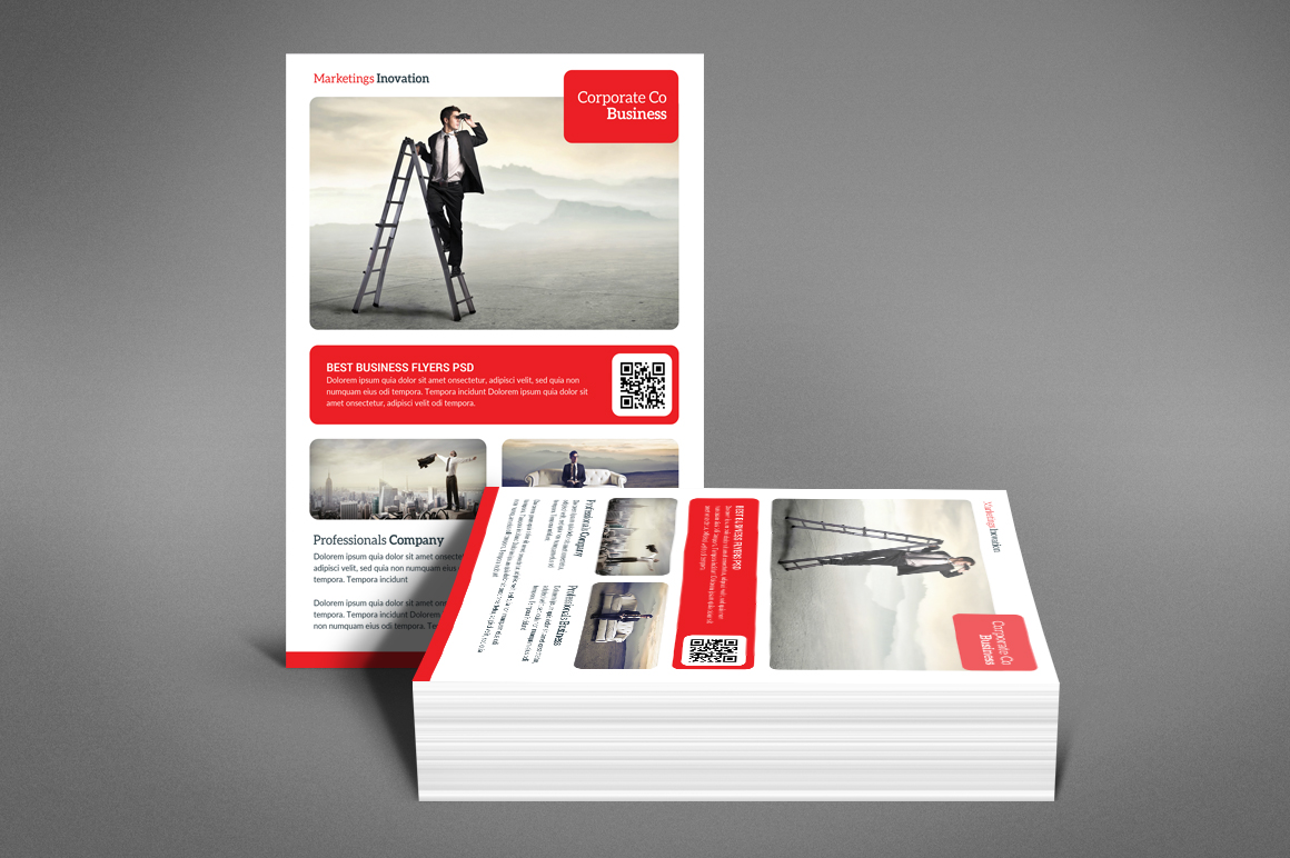 Business Flyer Psd example image 4